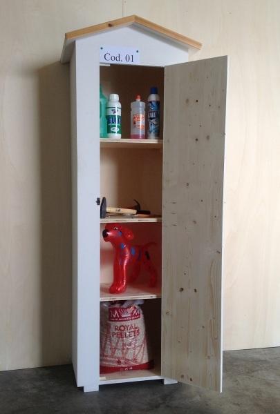 Armadio Legno Esterno : Amico legno srl armadio in da esterno