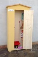 Amico Legno srl prodotti - Armadi in legno per esterno