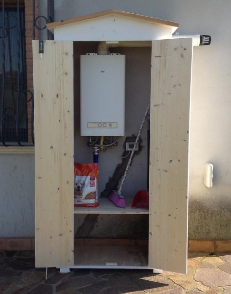 Amico legno srl armadio in legno da esterno - Armadietto legno per esterno ...
